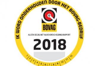 Bovag onderhoudsbeurt  2018